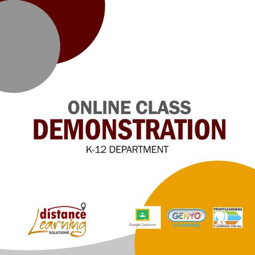 Online Class Demonstration