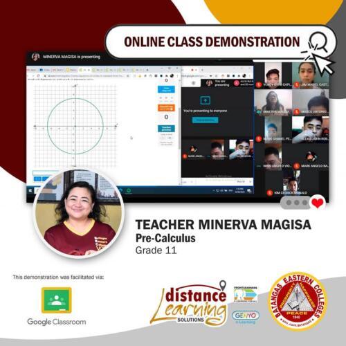 Online Class Demonstration 3