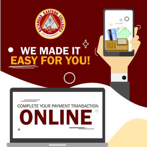 Online Payment Procedure
