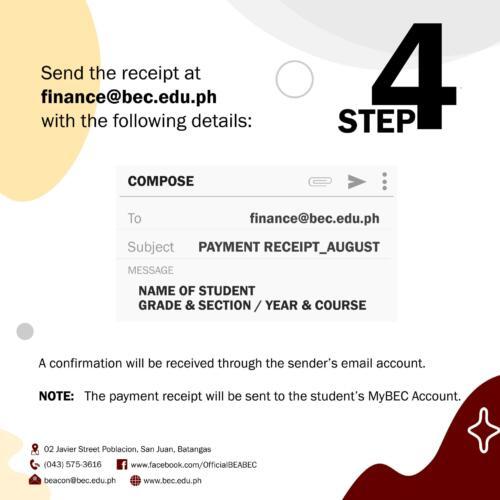 Online Payment Procedure 4